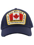 Dsquared2 Canada Patch Baseball Cap - Navy