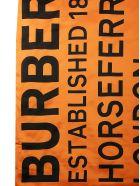 Burberry Maxi Scarf - Orange/black