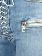 Ben Taverniti Unravel Project Unravel Unravel Project Lace-up Flared Jeans - LIGHT BLUE