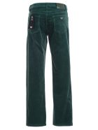 Emporio Armani Jeans Ribbed Velvet - Verde Foresta