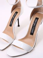 Sergio Rossi Sandal White Patent - White