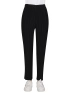 Issey Miyake Black Tapered Trousers - Black