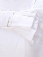 Comme Des Garçons Girl Tshirt Ribbon - White