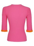 See by Chloé Frilly Sweater - Purple