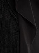 Maison Flaneur Flared Asymmetric Top - Black