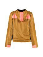 H2OFagerholt Winner Breaker Color Block Jacket - Camel