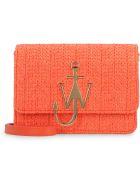 J.W. Anderson Anchor Logo Leather Shoulder Bag - Orange