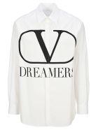 Valentino Dreamers Vlogo Shirt - WHITE