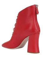 Miu Miu Ankle Boots - Rosso