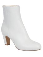 Maison Margiela Zipped Ankle Boots - White