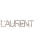 Saint Laurent Brooch - Silver