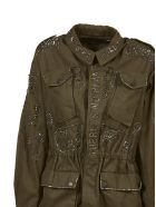 John Richmond Embellished Parka - Basic