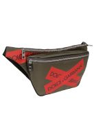 Dolce & Gabbana Logo Belt Bag - Green