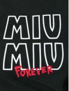 Miu Miu T-shirt Printed - Nero
