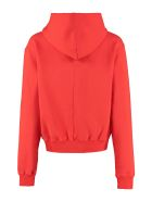 Ben Taverniti Unravel Project Cotton Hoodie - red