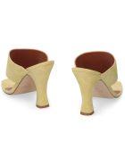 Paris Texas Leather Thong-sandals - green