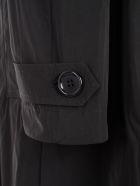 Aspesi Double Breasted Coat - Nero