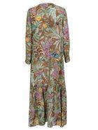 Momonì Printed Dress - Verde multi