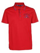 Paul&Shark Paul & Shark Embroidered Polo Shirt - Red