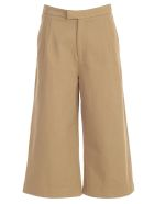 Jejia Nice Pants Cropped Wide Leg - Beje
