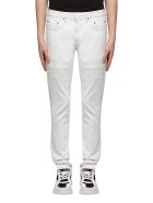 Neil Barrett Straight Leg Jeans - Bianco