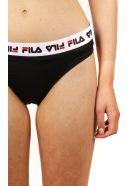 Fila Black Slip Logo Swimwear - Black