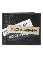 Dolce & Gabbana Logo Tape Wallet - Basic