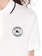 Burberry 'moreton' Polo - White