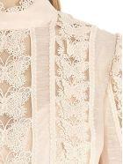 Zimmermann 'super Eight Butterfly' Blouse - Pink