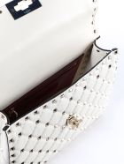 Valentino Garavani Rockstud Spike Medium Quilted Shoulder Bag - Ilight Ivory