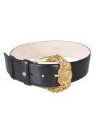 Versace Gold Plated Belt - Nero