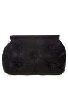Maison Margiela Medium Glam Slam Black Quilted Leather Bag - Black