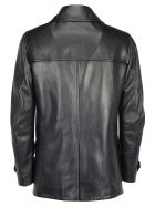 Prada Leather Coat - Nero
