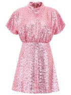 In The Mood For Love Sequins Shannon Mini Dress - PINK (Pink)