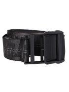 Off-White Black Canvas Classic Industrial Belt - Black