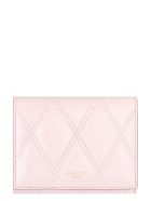 Givenchy Logo Detailed Leather Wallet - Pale pink