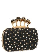 Alexander McQueen 'four Ring Box' Bag - Black
