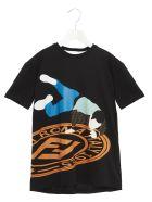 Fendi 'streetstyle' T-shirt - Black