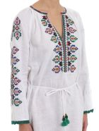 Tory Burch Embroidered Beach Dress - White