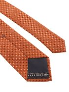 Ermenegildo Zegna Silk - A Orange Fant.