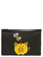 Dolce & Gabbana 'piggy Bank' Bag - Black