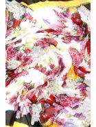 Dolce & Gabbana Floral-printed Maxi Scarf - ORTENSIE FIORI FNAT (Yellow)