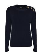 A.P.C. Paola Ribbed Pullover - blue