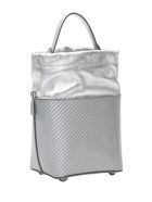 Maison Margiela Silver Bucket Bag - Silver