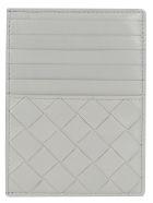 Bottega Veneta Card Holder - Concrete