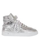 Laurence Dacade Laurence Dacade High-cut Metallic Sneakers - Silver
