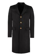 Givenchy Wool And Cashmere Coat - black