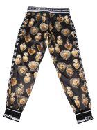 Dolce & Gabbana Pantaloni Tuta Stampa - Multi