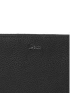Dior Logo Plaque Clutch - Nero