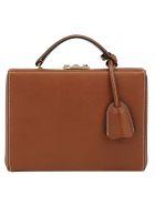 Mark Cross Grace Small Box Bag - Acorn